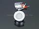 Kanlux Beépíthető IP65 mini LED spotlámpa, Imber 1W neutrál fehér - 12 Volt