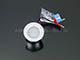 Kanlux Beépíthető IP65 mini LED spotlámpa, Imber 1W hidegfehér - 12 Volt