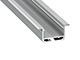 LED Labs Alu profil eloxált (inSileda, ezüst) - opál PMMA