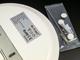 V-TAC IP44 LED panel falon kívüli - kör (15W)  természetes fehér