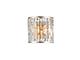 Elmark Janet antik oldalfali lámpatest (2xE14) - arany-ezüst