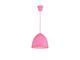 Elmark Joy szilikon függeszték - pink - E27