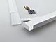 Kanlux LED panel kiemelő, falonkívüli beépítőkeret (60x60cm) összeszerelt - fényes fehér