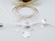 Kanlux LED szett kültéri: szenzor+táp. 1 méter meleg fehér 2835-30