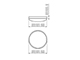 Kanlux DUNO mennyezeti LED lámpatest (24W) - természetes fehér
