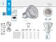 Kanlux LED lámpa GU10 (7W/120°) természetes fehér, ProLED