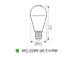 Kanlux MIO LED lámpa E27 (8W/200°) Körte - meleg fehér