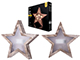 EMOS LED dekoráció (0.6W/10 LED) meleg fehér, 3D csillag
