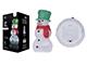 EMOS Karácsonyi LED dekoráció (1.28W/20 LED) hideg fehér, hóember, időzítős