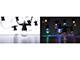 EMOS LED fényfüzér (2.25W/50 LED) Multicolor, átlátszó