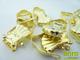 Carballo karnis csipesz - arany színű (10 db)