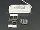 Kanlux Katro LED panel IP44 ezüst (300 mm) 23W - meleg fehér