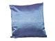 -Díszpárna huzat - (45x45 cm) Rombusz kék