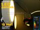 Falon kívüli kör LED panel (220 mm) 18W - meleg fényű