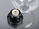 Elmark Gömb alakú kerti lámpa bura - átlátszó (200 mm) E27