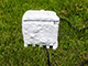 Mentavill Kültéri, kerti kőhatású elosztó mágneses ajtóval - 4 db dugalj