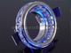 Rábalux Kristály mennyezeti lámpatest: Gyűrű
