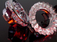 Rábalux Kristály mennyezeti lámpatest: Virág