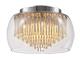 Rábalux Mona exkluzív üveg kristály mennyezeti lámpatest (G9)