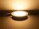 V-TAC Króm LED panel (kör alakú) 12W - meleg fehér