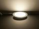 V-TAC Króm LED panel (kör alakú) 12W - természetes fehér