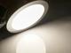 V-TAC Króm LED panel (kör alakú) 18W - természetes fehér