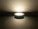 V-TAC Króm LED panel (kör alakú) 6W - természetes fehér