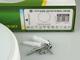 GreenLUX Kültéri opál mennyezeti LED lámpa kör (12W) - term. fehér