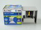 V-TAC Pegasi kültéri lámpatest, szürke, négyzet (6W) meleg fehér