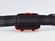 Asalite LED fejlámpa (3W) 7 funkciós, narancs-fekete
