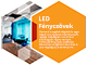 V-TAC Nano-Plastic T8 LED fénycső (120 cm) 18W - (4000K)