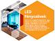 V-TAC T8 LED fénycső (120 cm) 18W - 6000K (6264)
