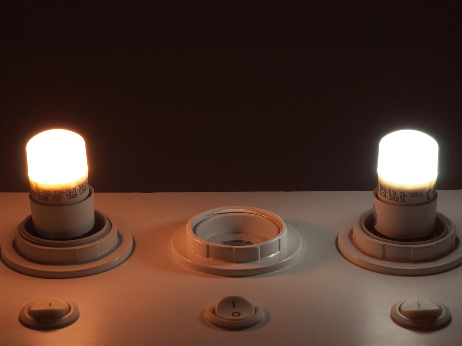 V-TAC E14 LED lámpa (2W/150°) Mini R25 - hideg fehér, PRO Samsung