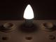 V-TAC LED lámpa E14 (3W/200°) Gyertya - természetes fehér