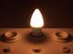 V-TAC LED lámpa E14 (4W/200°) Gyertya - meleg fehér