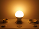 Kanlux E14 LED lámpa (7.5W/200°) Kisgömb - meleg fehér (IQ LED - TÜV)