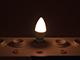 LED Labs LED lámpa E14 (7W/270°) Gyertya - meleg fehér