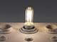MODEE LED lámpa E14 Filament (3.5W/360°) T25 - természetes fehér