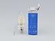 V-TAC LED izzó E14 Retro filament (4W/300°) Csavart gyertya - meleg f., dimmelhető