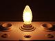 V-TAC E14 LED izzó Loft filament (4W/300°) Csavart gyertya - meleg fehér