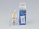 V-TAC E14 LED izzó Retro filament (4W/300°) Gyertya - meleg fehér, dimmelhető