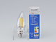 V-TAC LED izzó E14 Retro filament (4W/300°) Gyertya - meleg fehér, dimmelhető