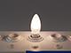 V-TAC LED lámpa E14 Filament (4W/300°) Gyertya opál - természetes