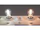 V-TAC LED lámpa E14 Filament (4W/300°) Kisgömb - hideg fehér