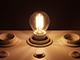 V-TAC LED lámpa E14 Filament (4W/300°) Kisgömb - meleg fehér DIM