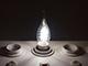 V-TAC LED izzó E14 Retro filament (4W/300°) Csavart gyertya láng - hideg fehér