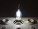V-TAC E14 LED izzó Retro filament (4W/300°) Gyertya láng - hideg fehér