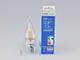 V-TAC E14 LED izzó Retro filament (4W/300°) Gyertya láng - meleg fehér, dimmelhető
