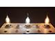 V-TAC LED izzó E14 Retro filament (4W/300°) Gyertya láng - hideg fehér