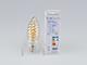 V-TAC LED izzó E14 Vintage filament (4W/300°) Csavart gyertya - extra meleg fehér
